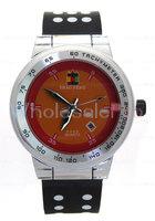 Men's SHAO PENG Quartz Date Black And White Polka Dot Wrist Watch