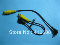 3 Pcs Per Lot 2.5mm 4 Pole Male Plug to RCA Female Jack Connector Cable 20cm 2.5/M-3.5/F HIGH Quality HOT Sale