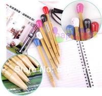 10pcs/lot  fashion stationery telescopic pills pen expression pill ball point pen creative pills retractable ballpoint pen