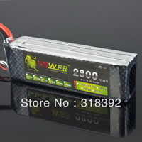 free shipping  11.1V 2800MAH 30C MAX 35C AKKU LiPo RC Battery For Rc Helicopter 3S