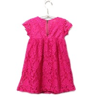 baby girls' dresses kids children G lace hollow Dress 0123 B 1222741892