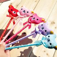 Hotsale! New bear pen/Ball pen/ Fashion promotional pen with different colors wholesale 100pcs/lot Free shipping