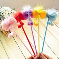 Hotsale! New bowtie pen/Ball pen/ Fashion promotional pen with different colors wholesale 100pcs/lot Free shipping