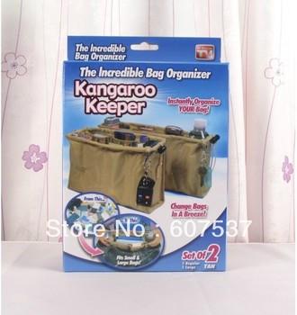 hot selling the incredible Kangaroo Keeper Purse Bag Organizer,set of 2