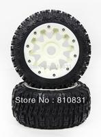 The third  generation nylon rear off-road tires kit for 23cc 26cc 29cc 305cc bajas Freeshipping