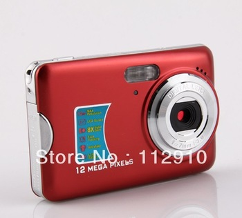 Wholesale   digital  camera    12MP   8    Zoom  2.7 inch  TFT