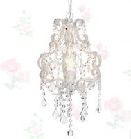 TIFFANY lamp light bead crystal chandelier light (size:30cm diameter*54cm height)for home hotel restaurant decoration 110V-250V