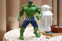 Free Shipping Super Hero The Avengers Movie Hulk Action Figures Toys  30cm PVC Model Dolls Movable