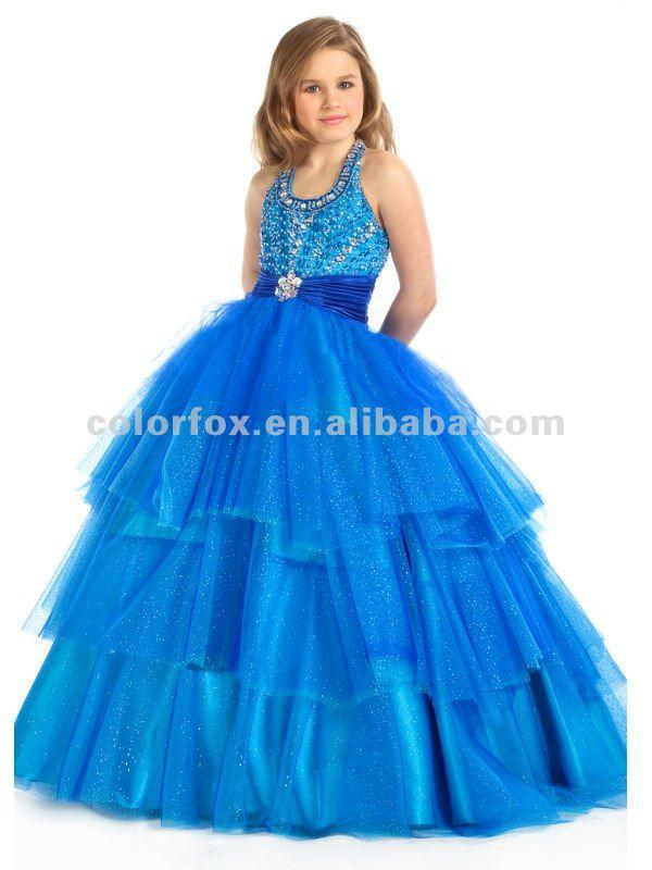 Vestidos De Fiesta Para Ninas Cual Es El Color Que Va Con La - Cual-es-el-color-turquesa
