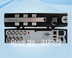 High performance H.264 8CH Stand alone DVR cctv dvr realtime recording DVR with good quality EDR-6108(China (Mainland))