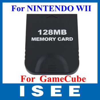 128M Memory Card For NINTENDO WII GameCube console GC Game Free Shipping