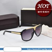 Sun glasses sunglasses trend fashion z0105w black asian version