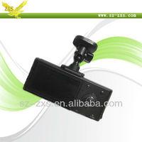 Zhixingsheng dvr car, Rotated Lens Car Camera, Double Camera For Car, HD 720P Recroder h990