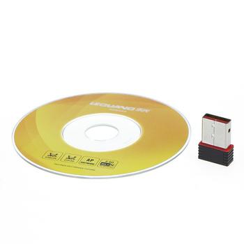 Mini 150M Wifi Wireless USB Adapter IEEE 802.11n LAN Network Card Computer & Networking Accessories Free Drop Shipping Wholesale