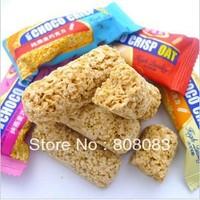 Free shipping nutrition oatmeal chocolate pure oats oatmeal cookies sugar 500g