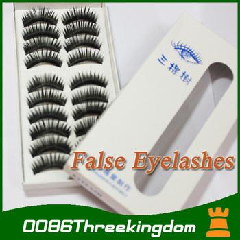 wholesale eyelashes 500 pairs HOT sale eye make up tool false eyelash eye lashes extension natural & Long (014)MU0004#50