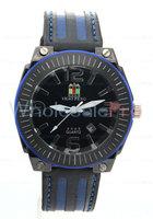 SHAO PENG Men's Quartz Calendar Genuine Leather Strap Water Resistant Stainless Steel  Black Dial Watch Online