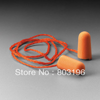 10pairs/Lot Free Shipping 3M 1110 Protect Foam Earplugs Ear Plugs for Travel Sleep Snoring Noise Reducer