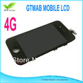 2pcs Original 4G full front assembly, with LCD, touch screen digitizer for iphone 4/4G free shipping
