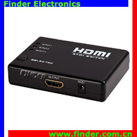 High Quality 3 Port HDMI Switch with Remote Control