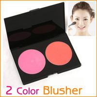 2 Colors Makeup Cosmetic Blusher Powder Palette 5pcs/lot