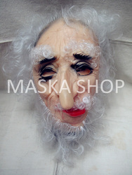 Hot selling Face Masks Wholesale price pirate mask halloween mask old man head FREE SHIPPING(China (Mainland))