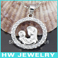 13107 silver mother daughter charm