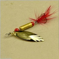 2013 NEW !Professional ! HOT!7g Metal Spoon Lure,Spoons,10pcs/lot 2 color available