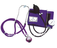 Free Shipping  Sphygmomanometer /Blood Pressure Monitor KT-A05 with Sprague Rappaport Stethoscope