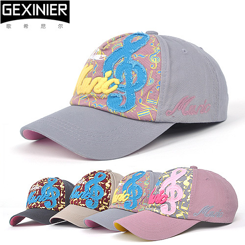 Hat women's autumn and winter note baseball cap beach sun-shading male hat hiphop sun hat(China (Mainland))
