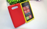 Hot selling silicone case/silicone case for Nokia 820/Noka 820 silicone case/mobile phone silicone case/20pcs/packs