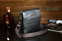 2013 free shipping Latest classic design 100% top quality leather shoulder man's bag,messenger Man Bag,Top quality men bags