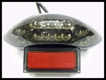 LED Tail Light Turn Signal for 1997-2007 Suzuki Hayabusa GSXR1300 w/ DOT