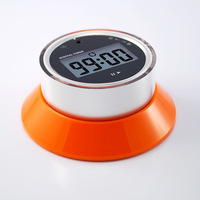Small flying saucer kitchen timer reminder timer switch