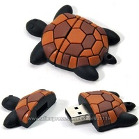 Hot 4GB 8GB 16GB 32GB Full Capacity Cute Turtle Shape USB 2.0 Flash Memory Stick Drive Thumb drive Pen Disk 4G 8G 16G 32G