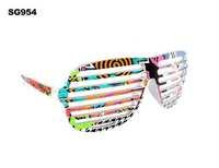 Popular design Kanye west shutter window glasses hiphop sunglasses personality avant-garde sunglasses glasses 10pcs/lot