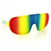 Free shipping Popular design Hip hop reticularis glasses cheese grater sunglasses sun glasses multicolor 10pcs/lot