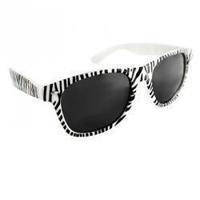 Free shipping Popular design Zebra print sunglasses vintage sunglasses anti-uv sports casual sunglasses 10pcs/lot
