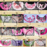 2013 Summer Cheap Children Kids Girl Fluffy Petti Skirt With Bow Free Shipping