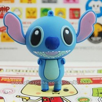 4GB 8GB 16GB 32GB USB 2.0 Flash Memory Stick Drive Cute Lilo & Stitch Shape Full Capacity Thumb Drive Pen Disk 4G 8G 16G 32G Hot