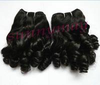 Sunnymay Natural Color Fashion Beauty Curly Brazilian Virgin Human Hair Weft