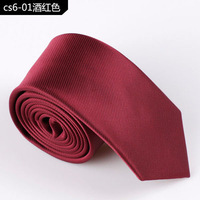 New arrival 13colors  korea style Fashion solid Colorful Men's Tie Necktie surprise promotion price 6CM width free shipping