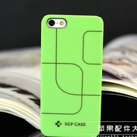Korea for iphone5 phone shell simple stripes protective sleeve ultra-thin transparent shell K1849