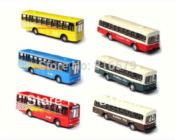 FREE SHIPPING 20pc Wholesale - 1:150 scale model bus Landscape Train Model Scale architectural scenery Model makers supply(China (Mainland))