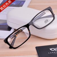 Carreilar classic eyeglasses frame glasses frame myopia black ultra-light