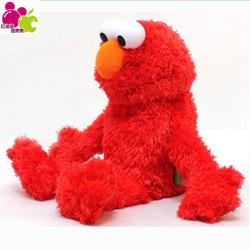 Hpp & lgg brand 38cm Plush Puppets, Cookie Monster Sesame street elmo doll big bird hand puppets gift toys for children