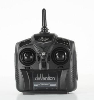 F04737 Walkera Devention Devo 4 2.4GHZ 4CH RC Transmitter Radio controller Devo4