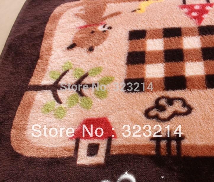 Frete Grátis Stylish Carpet Com Rosa Estilo 40 x 60cm , Lovely Bear Tapete Quarto Carpet , Cozinha Rug , Varanda mat(China (Mainland))