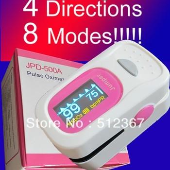 2 pcs together!! CE&FDAFingertip Pulse Oximeter OLED display, SPO2 monitor, oximetry SPo2 , PR monitor with Alarm set.