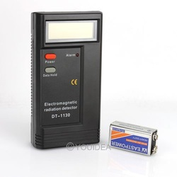 FREE SHIPPING Digital LCD Electromagnetic Radiation Detector EMF Meter Dosimeter Tester Useful 5Hz-2000MHz 80441(China (Mainland))